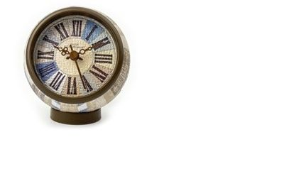 3d Puzzle Clock Country Gracefull Blue