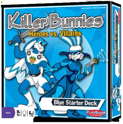 Killer Bunnies Heroes v Villains