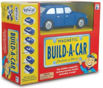 Magnetic Build A Car